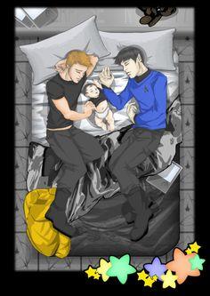 Trek: Baby On Board by ~Fallen-Seraphim on deviantART