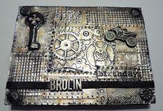 Beyond the Fringe: Metal Foil Tape Card