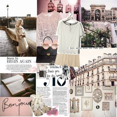 """""""a morning along the seine ♥"""" by emilie-ethereal ❤ liked on Polyvore"""