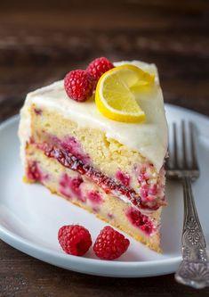 Lemon Raspberry Cakecountryliving
