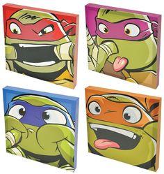 Teenage Mutant Ninja Turtles 4-pc. Canvas Wall Art Set