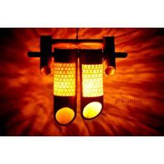 Double Canon Lamp from KraftInn