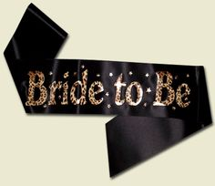 Bride to be Leopard Print Sash