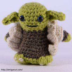 Amigurumi: Yoda!
