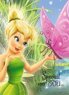 Kaarten - verjaardag kids meisje - best verkocht km   Hallmark Peter Pan And Tinkerbell, Tinkerbell Fairies, Walt Disney, Birthday Wishes, Happy Birthday, Audi, Happy B Day, Disney Scrapbook, Illustrations