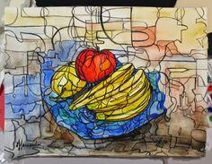 FRUTERO-ACUARELA FERNANDINI | Venta de Pinturas al óleo y acuarela de Patty Fernandini