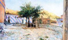 Telemaco Signorini - Poggio all'isola d'Elba 1888