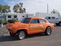 gassers | Typical Gasser car from the 1960s. This 1952 Henry J was built and ...
