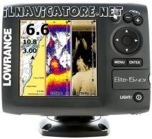 LOWRANCE ELITE 5 HDI 50/200-455/800 - Un NUOVISSIMO #ecoscandaglio /chartplotter a 5 pollici con Hybrid Dual Imaging™ (HDI) che unisce il Broadband Sounder™ con la tecnologia DownScan Imaging™, l'#antenna #GPS integrata e il supporto per la mappatura ad alta definizione. - ilnavigatore.net #annunci #nautici