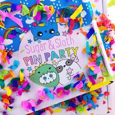 Pin Party Club is the cutest UK subscription box! Each month has a new party theme, and fits through your letter box (like all good parties should). This month we host a Llama Fancy Dress Parade, and your box will be filled with partying llamas, you guessed it, in fancy dress!