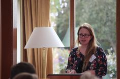 Anna, Marketing Co-ordinator, Lowther Castle at the 2015 Eden Tourism Summit.
