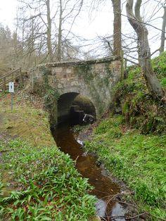 Roslin (Rosslyn) Glen - Gunpowder Mill Lade