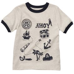 Short-Sleeve Graphic Tee | Baby Boy New Arrivals