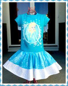 disney fabric | girls FROZEN Princess Elsa Disney fabric by BlossomBlueBoutique, $38 ...