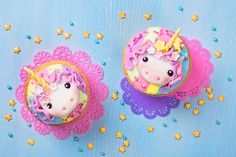 Get inspirational unicorn cake ideas from this image gallery of unicorn cake designs and cake toppers ideal for birthdays and kids parties Cupcakes Design, Cake Designs, Unicorn Birthday, Unicorn Party, Unicorn Cake Design, Streamer Backdrop, Cake Decorating Set, Creative Advertising, Unicorn Cupcakes