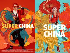 Banner Design Inspiration, Character Design Inspiration, Chines New Year, Infinity Art, Pop Art Tattoos, Chinese New Year Design, Chinese Posters, New Years Poster, Poster Layout