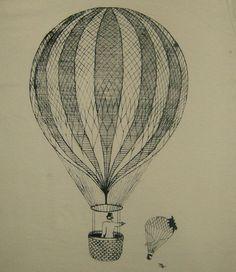 Un duelo de altura... en globo