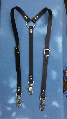 For men forged by fire. Leather Harness, Leather Men, Leather Fashion, Leather Accessories, Fashion Accessories, Leather Suspenders, Leather Apron, Mein Style, Leather Projects