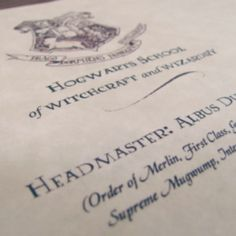 Finally get accepted to Hogwarts. You know you've been waiting.