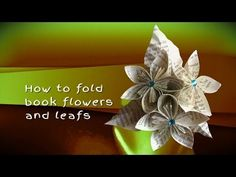 How to Make a Paper Calla Lily | Easy DIY Flowers | Book Page Craft Tutorial | Wedding Bouquet - YouTube