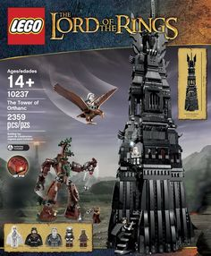 LEGO Lord of the Rings 10237 Tower of Orthanc Building Set #LEGO