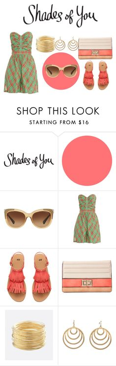 """Shades of You: Sunglass Hut Contest Entry"" by angeliathomas ❤ liked on Polyvore featuring Coach, Rachel Comey, Melie Bianco, Avenue, Pink Mascara and shadesofyou"
