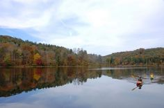Ohio's Top Outdoor Attraction: Hocking Hills - Rose Lake.