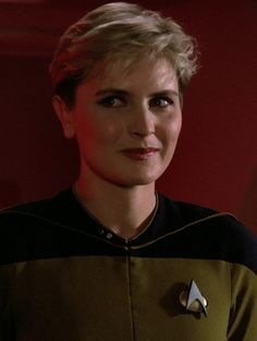 Natasha Yar (Denise Crosby) from Star Trek The Next Generation