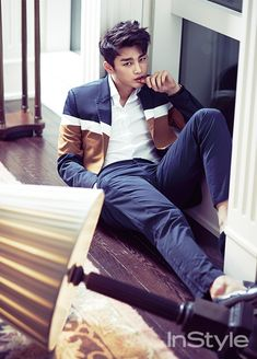 Seo In Guk - InStyle Magazine July Issue '14