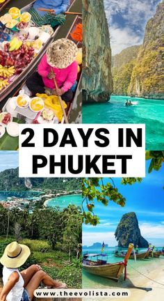 Are you looking for a Phuket 2 day itinerary? This Phuket travel guide includes tips on hotels, best things to do and everyting you need for a perfect trip. Phuket Travel Guide, Thailand Travel Tips, Asia Travel, Croatia Travel, Beach Travel, Hawaii Travel, Italy Travel, Beaches In Phuket, Phuket Hotels