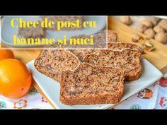 Chec de POST cu banane și nuci (Banana bread)    ⭐DULCINELE⭐ - YouTube Banana Bread Reteta, Dessert Recipes, Desserts, Vegan, Food, Youtube, Banana, Pie, Tailgate Desserts
