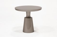 HOLLY HUNT - PESO SIDE TABLE