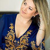 """Купить или заказать """"059"""" Солнечный танец в интернет магазине на Ярмарке Мастеров. С доставкой по России и СНГ. Срок изготовления: 2 месяца. Материалы: домотканое полотно, шелковый лён, шифон. Размер: Любой"""
