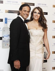 Parting ways: Liz and Arun were officially granted a divorce in June 2011