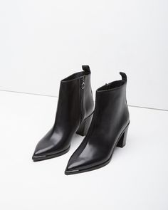 acne loma ankle boot Botines de punta