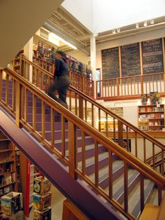 Powell's Books. Portland, OR. One Of My All Time Favorite Book Stores.