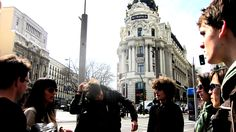 #FunAfternoonActivities - Walking tour around the centre of #Madrid, #Spain - la Gran Vía http://www.ailmadrid.com/spanish-courses/en/Combination-Courses/Fun-Afternoon-Activities/8