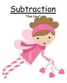 Fern Smith's FREE! Valentines Subtraction One Less {Minus 1} Center Game