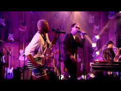 """Fitz And The Tantrums """"MoneyGrabber"""" Guitar Center Sessions on DIRECTV  i cannot help but to be reminded of David Byrne and Will Ferrell at the same time, but i like it."""