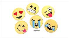 DIY crafts: Emoji COASTERS