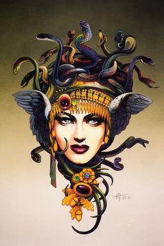 Medusa: ■ Chris Achilleos