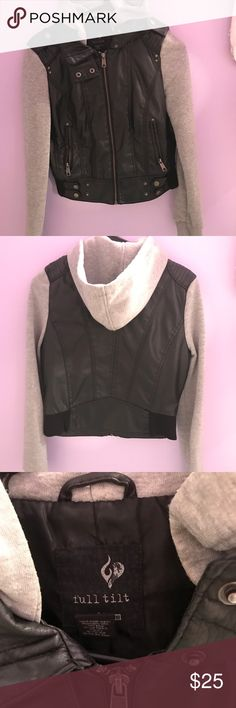 Jacket This is a super cute jacket! Worn a lot! But still in good condition! It's a size medium but fits more like a small! Jackets & Coats