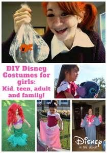 Disney Inspired DIY Costumes