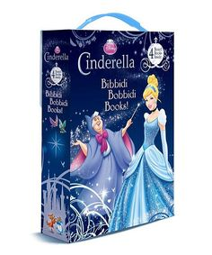 This Cinderella Bibbidi Bobbidi Books! Board Book Set by Disney Princess is perfect! #zulilyfinds