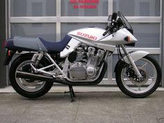 For me the ultimate Japanese Bike of my generation. The First Suzuki Katana. Had one and let it get away. I will own one again.