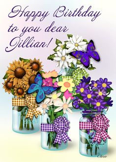 Jars With Flowers Graphics, Instant Download, PNG Files, Flower Graphics, Canning Jar Graphics, Cann