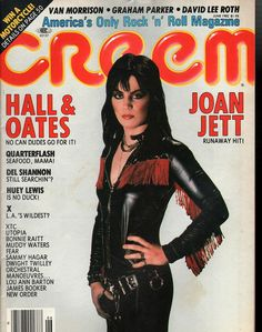 item details: Entire Issuekeywords: Joan Jett, Van Morrison, Graham Parker, David Lee Roth, Hall & Oats, Quarterflash, Del Shannon, Huey LewisCreem (which is always capitalized in print as CREEM despi