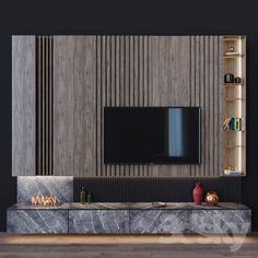 models: Other - tv set tv wall design, Living Room Tv Cabinet Designs, Living Room Designs, Living Room With Fireplace, New Living Room, Tv Unit Furniture Design, Modern Tv Wall Units, Modern Tv Cabinet, Tv Wanddekor, Tv Wall Decor