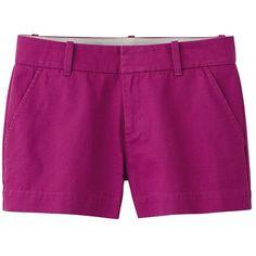 UNIQLO Women Chino Shorts ($20) ❤ liked on Polyvore