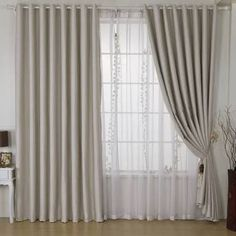 Best Blackout Curtains for Children's Rooms - Room Darkening Ideas - Top Blackout Curtains Elegant Curtains, Cheap Curtains, Home Curtains, Modern Curtains, Curtains With Blinds, Blackout Curtains, Window Treatments Living Room, Living Room Windows, Nooks